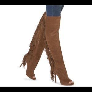 Shoes - Brown Knee High Women's Boots Sz9.5